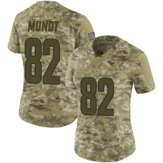 Johnny Mundt Women's Los Angeles Rams Nike 2018 Salute to Service Jersey - Limited Camo